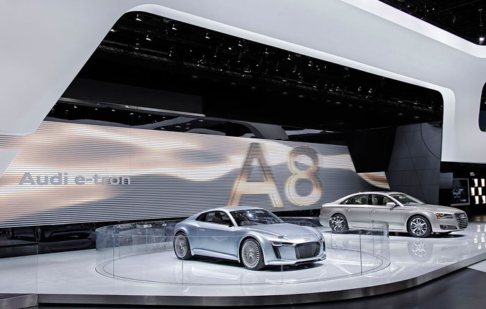 launching of e-tron and A8