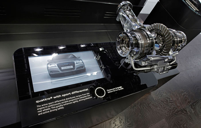 quattro sport differential display